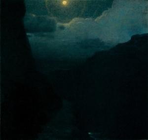 Edward Steichen Moonlit Landscape