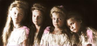 Romanov sisters: Olga, Tatiana, Maria, Anastasia